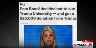 pay_to_play_pam_bondi_nixes_lawsuit_after_taking_money_from_trumpcapture